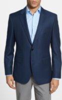 BOSS Hugo Boss James Trim Fit Wool Blazer 38S