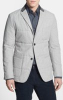 BOSS Hugo Boss Marwin Regular Fit Microcheck Quilted Sportcoat