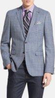 BOSS Hugo Boss Rhett Extra Trim Fit Check Sportcoat 44R