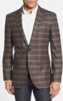 BOSS Hugo Boss The James Trim Fit Plaid Sportcoat 38R
