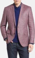 BOSS Hugo Boss The Keys Trim Fit Linen Blend Sportcoat 40L