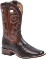 Boulet 12  Wide Square Toe Stockman Heel Boots