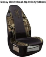 Browning Signature Automotive Browning Mossy Oak Break-Up Infinity Universal Fit Seat Cover with Seatbelt Access