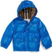 Burberry Jaffa Down Fill Puffer Coat (Baby)
