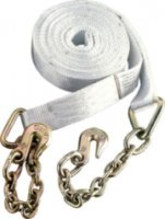 Cabela's 25' Recovery Strap With Chain Lead