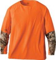 Cabela's Hunt Tech Blaze Long-Sleeve Tee Shirt