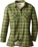 Cabela's Sherpa Fleece-Lined Flannel Tech Shirt Jac