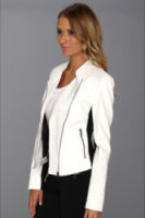 Calvin Klein Perforated Moto Jacket
