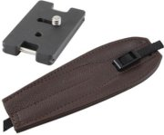 Camdapter Arca Adapter with Chocolate Brown ProStrap Fits All Arca Swiss QR and RRS Clamps