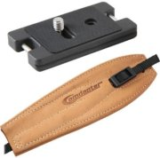 Camdapter Arca Neoprene Adapter with Natural ProStrap Full Access to Battery/Card Compartment