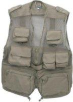 CampCo Combat Photo Vest - Khaki - Medium