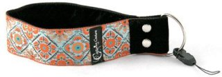 """Capturing Couture Summer Bliss 1.5"""" Wristlet Camera Strap for Point & Shoot Cameras"""