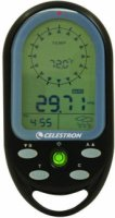 Celestron Trekguide - Digital Compass Altitude Barometer Temperature Time Backlight - Black