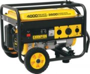 Champion 3500 Watt Generator Weekender Package