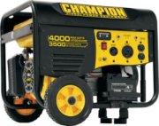 Champion 3500 Watt Remote Start Generator