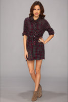 Chaser Button Down Collared Dress