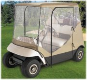 Classic Accessories Fairway Travel 4-Sided Golf Cart Enclosure