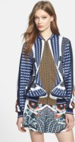 Clover Canyon Twist Scarf Bomber Jacket X-Small