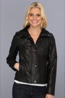 Cole Haan Lambskin Jacket w/ Dimond Quilt