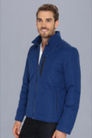 Cole Haan Quilted Jacket w/ Leather Details