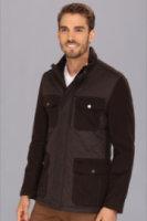 Cole Haan Quilted Moleskin Jacket
