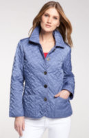 Cole Haan Short Quilted Jacket (Petite) 2P