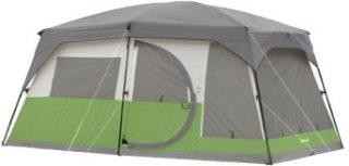 Coleman Vacationer 2-Room Ten-Person 15\' x 10\' Cabin Tent ...