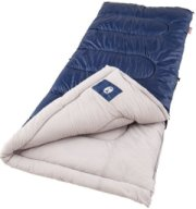 Coleman Brazos Cold Weather Sleeping Bag Navy