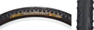 """Continental Travel Contact Tire 26x1.75"""" Black"""