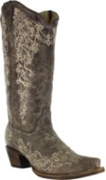 Corral Boots Bone Embroidery