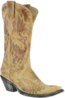 Corral Boots Eagle Stitched Western Fashion Boots