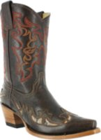 Corral Boots Goat Inlay