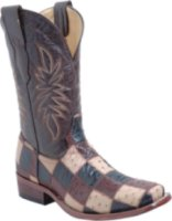 Corral Boots Ostrich Patchwork Exotic