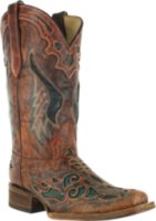 Corral Boots Square Toe Inlay