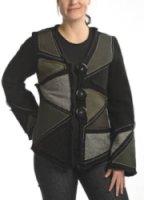 Covelo Melange Patchwork Jacket