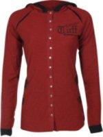 Cowgirl Tuff Long Sleeve Hooded Graphic Print Shirt