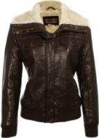 Cripple Creek Fur Collar Aviator Jacket