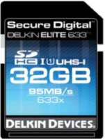 Delkin 32GB Elite 633 Class 10 Secure Digital (SDHC) UHS-I 633x Memory Card up to 90 MB/Sec