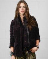 Denim & Supply Ralph Lauren Velveteen Field Jacket