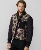 Denim & Supply Ralph Lauren Workwear Quilted Camo Jacket