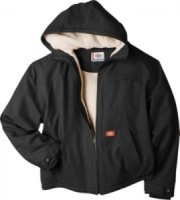 Dickies Sanded Duck Sherpa-Lined Hooded Jacket Tall