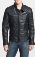 Diesel Laleta Leather Moto Jacket Small