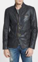Diesel Momor Leather Jacket Large