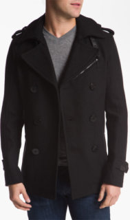 Diesel Wittory Double Breasted Peacoat XX-Large