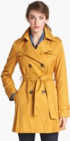 DKNY Double Breasted Trench Coat (Regular & Petite) (Online Only) X-Small