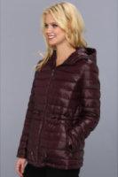 DKNY Three Quarter Hooded Anorak Coat