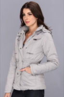 Dollhouse Double Snap Hooded Puffer