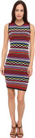 DSQUARED2 Mix Color Knitwear Dress