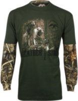 Duck Dynasty Long Sleeve Graphic Print T-Shirt