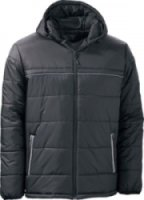 Dutch Harbor Quilted Hooded Coat